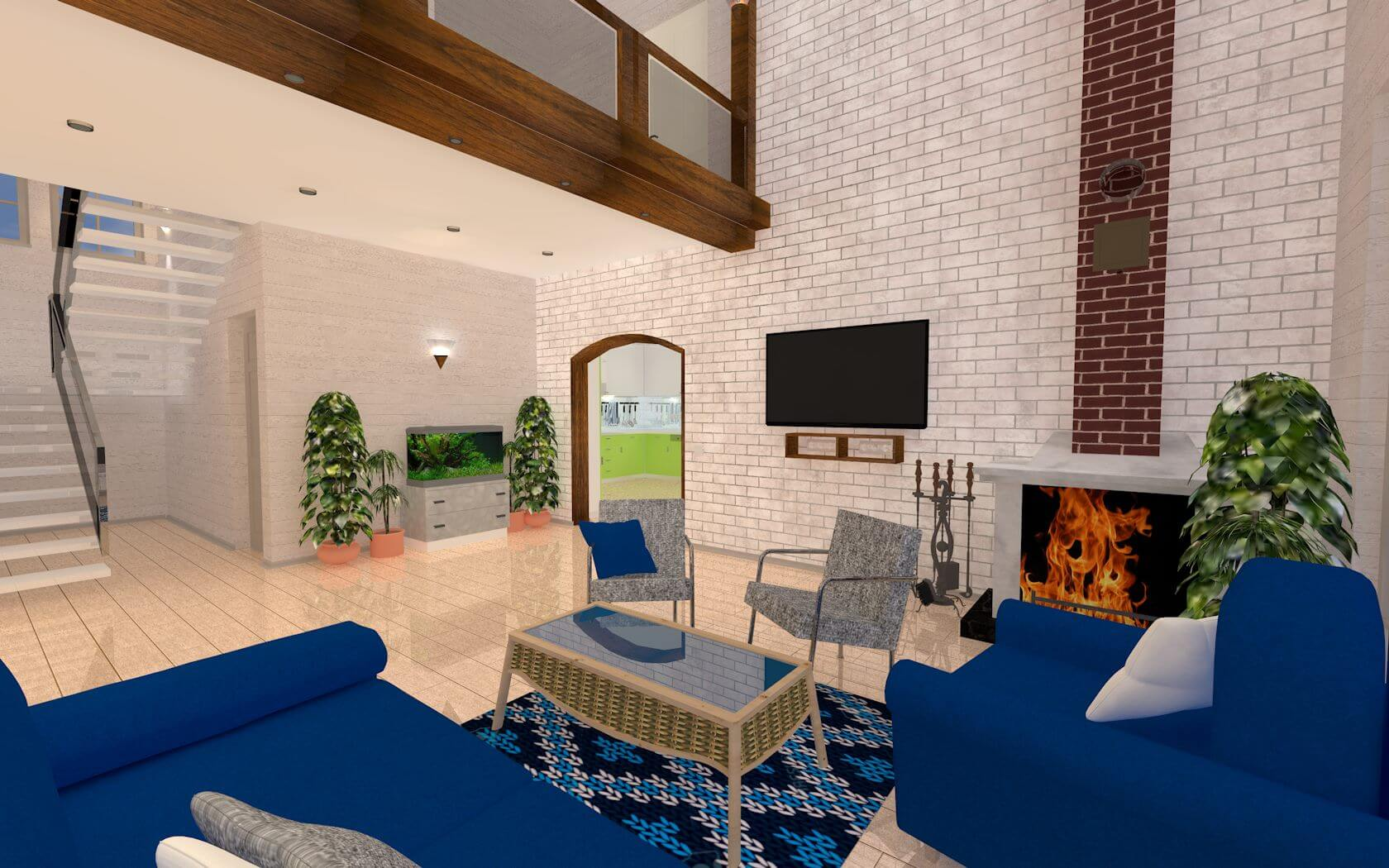 дизайн проект сип дома